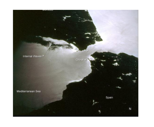 CIA map of Gibraltar in black and white. Targeted Justice Movement 2020