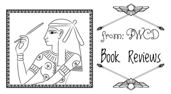 Black and white illustration of Seshat. from: PWCD -