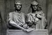 Photograph of two Roman statues. from: PWCD - Corporations and State